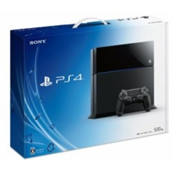 PlayStation 4 ジェット・ブラック 500GB (CUH-1000AB01) 【メーカー生産終 (中古品)