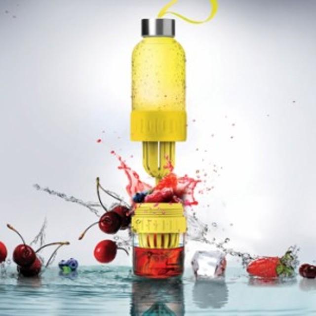 asobu THE FRUIT BLENDER 2GO 全2色 フルーツフレーバー ウォーターボトル マイボトル 健康 ヘルシー 水分補給 メテックス ANDTN