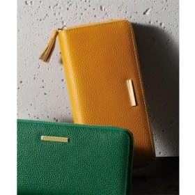 ラナン(Ranan)/がばっと開いて小銭が見やすい本革長財布