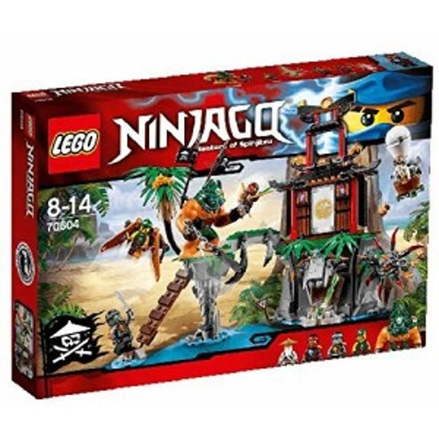 レゴ (LEGO) ニンジャゴー 離れ小島 ティガー島 70604(中古品)