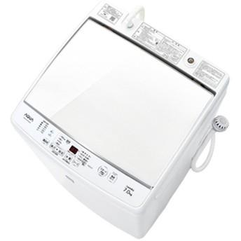 AQUA7.0kg全自動洗濯機keywordキーワードホワイトAQW-GP7E5(KW)