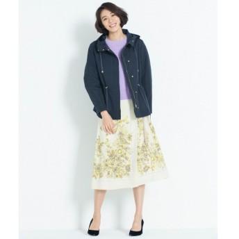 S size ONWARD(小さいサイズ) / エスサイズオンワード 【洗える】SCARF PRINT スカート