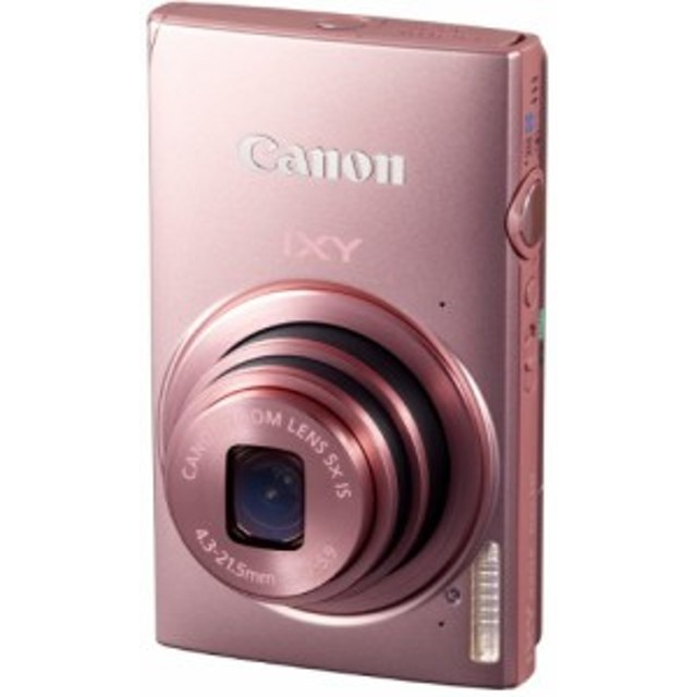 Canon デジタルカメラ IXY 420F ピンク 光学5倍ズーム 広角24mm Wi-Fi対応 (中古品)