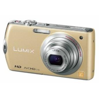 パナソニック デジタルカメラ LUMIX FX70 リュスクゴールド DMC-FX70-N(中古品)