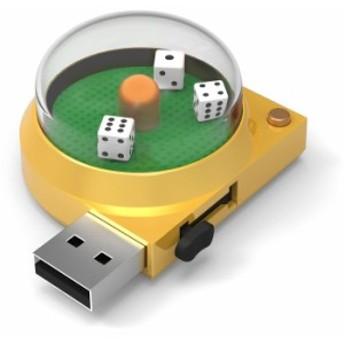 新感覚カジノUSBメモリー 8GB ダイス グリーンハウス UFDCSA8G-DC