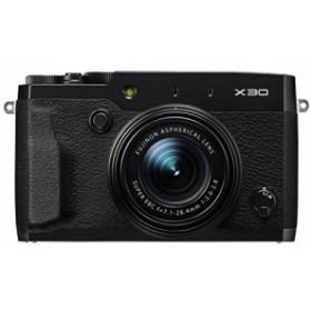 FUJIFILM プレミアムコンパクトデジタルカメラ X30 ブラック FX-X30B(中古品)