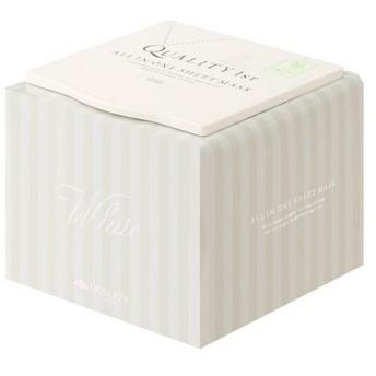 クオリティーファースト QUALITY 1STオールインワンシートマスクホワイトEX1箱 (30枚入り)