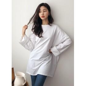 ボクシーロングTシャツ・全4色・b52722