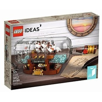 レゴ (LEGO) アイデア ボトルシップ Ship in a Bottle 21313 [並行輸入品](未使用の新古品)