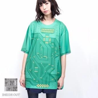 基板Tシャツ【ブランド:INSIDEOUT fashion】カラー:グリーン