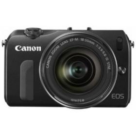 Canon ミラーレス一眼カメラ EOS M レンズキット EF-M18-55mm F3.5-5.6 IS (中古品)
