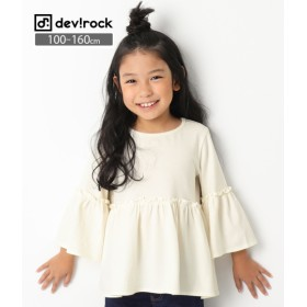 devirock ウエスト切替フレアTシャツ