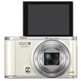 CASIO デジタルカメラ EXILIM EX-ZR3200WE 自分撮り・みんな撮りが簡単 ス (中古品)