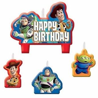 (ディズニー) Disney Toy Story トイストーリー バースデイ キャンドル バ (未使用の新古品)