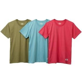 ディッキーズカラー半袖インナー3枚組(男の子 子供服。ジュニア服) キッズ下着