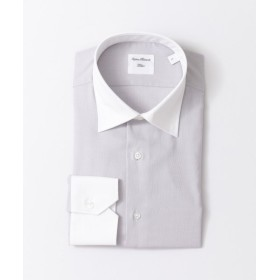【50%OFF】 アーバンリサーチ URBAN RESEARCH Tailor セミワイドクレリックシャツ メンズ GRAY XL 【URBAN RESEARCH】 【セール開催中】