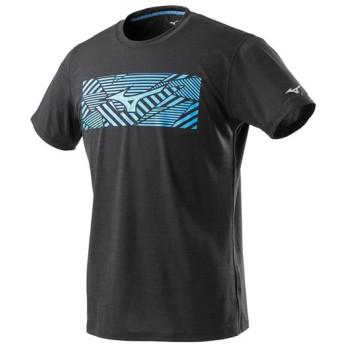 MIZUNO SHOP [ミズノ公式オンラインショップ] グラフィックTシャツ[メンズ] 09 ブラック J2MA9005