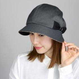 DAKS ダックス キャスクロッシェ 帽子 レディース リボン 上品 婦人 秋 冬 日本製 グレー