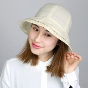 婦人ハット 帽子 ギフト 帽子 レディース クロッシェ ハット ダックス UVカット お出掛けに最適