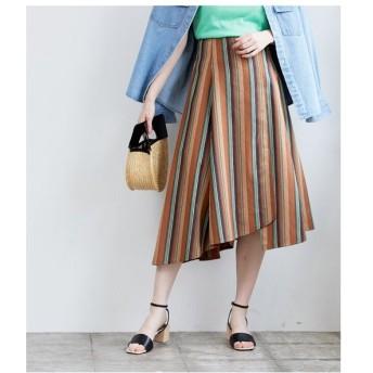ROPE' / ロペ ストライプアシメスカート