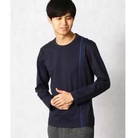 COMME CA MEN / コムサ・メン リバーシャンブレーTシャツ