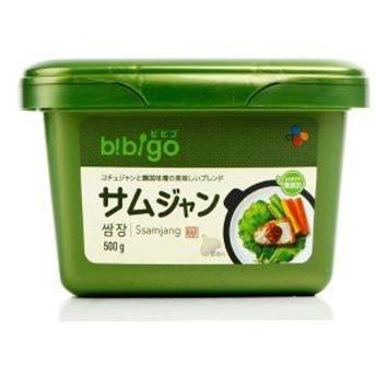 [bibigo]ビビゴサムジャン(焼肉用味噌)500g/韓国調味料/韓国焼肉味噌