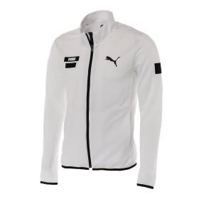 【プーマ公式通販】 プーマ ゴルフ ヘリテージ ニット ブルゾン メンズ Bright White  CLOTHING PUMA.com