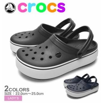 CROCS クロックス CROCBAND プラットフォーム クロッグ 205434