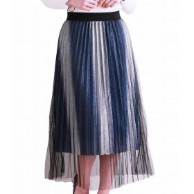 [マルイ] プリーツ チュール の上品な ラメ入り スカート レディース/サワアラモード(sawa a la mode)