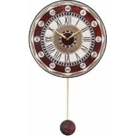振り子時計 アントニオ・ザッカレラ 陶器 ZC135-001 送料無料 掛け時計 お洒落 ギフト