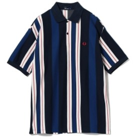 FRED PERRY BEAMS  別注 90's ストライプ ポロシャツ メンズ