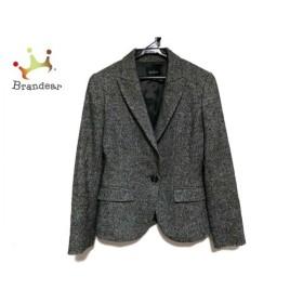 ボッシュ BOSCH ジャケット サイズ36 S レディース 黒×白 ツイード   スペシャル特価 20190527