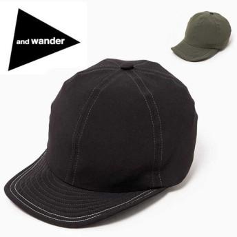 アンドワンダー and wander 2way stretch cap AW91-AA086 【アウトドア/帽子/おしゃれ/キャンプ】
