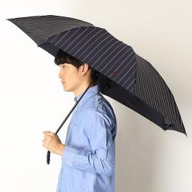 [マルイ]【セール】雨傘【手開きタイプ/折り畳み傘/朱子織りストライプ/グラス骨】(メンズ/紳士)/POLO RALPHLAUREN(ポロ ラルフローレン)(傘)
