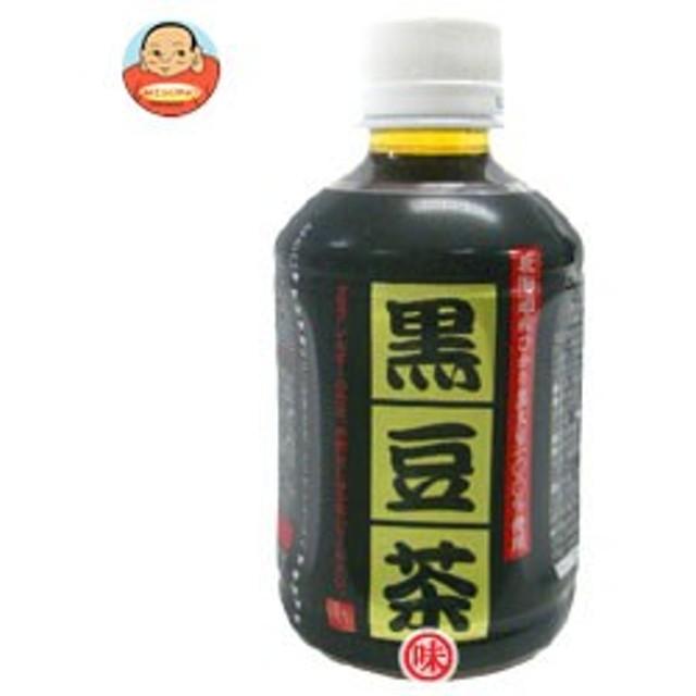 【送料無料】オアシス 黒豆茶 280mlペットボトル×24本入
