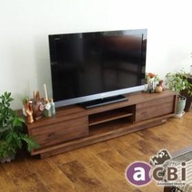 ACW540KA アジアン家具 ローボード テレビボード TV台 幅160cm  AVラック AV収納木製 天然木 テレビ台 ナチュラル アジアン チーク材 チ