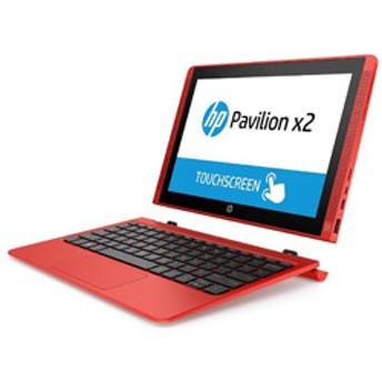 ノートPC Pavilion x2 10-n140TU T0Z06PA-AAAA サンセットレッド [Atom・10.1インチ・eMMC 64GB・メモリ 2GB]