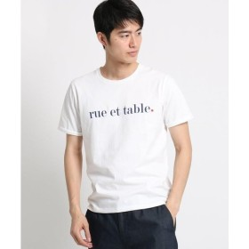 THE SHOP TK / ザ ショップ ティーケー コットンロゴ刺しゅうTシャツ
