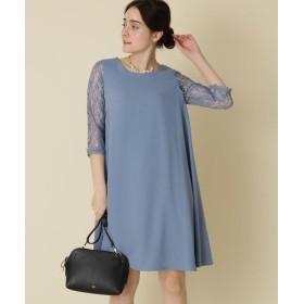 Couture Brooch(クチュールブローチ) 【WEB限定販売(LLサイズ)】Mint Souffle(ミントスフレ)レーシーワンピース