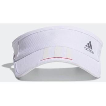 adidas アディダス シルバーロゴ美バイザー XA160