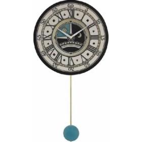 振り子時計 アントニオ・ザッカレラ 陶器 ZC180-003 掛け時計 送料無料 掛け時計 お洒落 ギフト