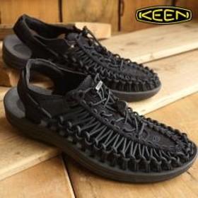 送料無料 KEEN キーン メンズ サンダル 靴 UNEEK 3C MEN ユニーク スリーシー Black/Black ( 7908bb5ef