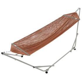 ロゴス(LOGOS) キャンプ スタンドハンモック 73173116 アウトドア 自立式ハンモック 室内 屋外 ベッド 寝具