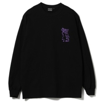 GOODHOOD × UND × BEAMS T / SHINKOWNSUKE Long Sleeve Tee メンズ Tシャツ BLACK M