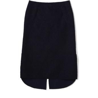 アッシュ・スタンダード H/standard レースボンディングタイトスカート ネイビー S【税込10,800円以上購入で送料無料】