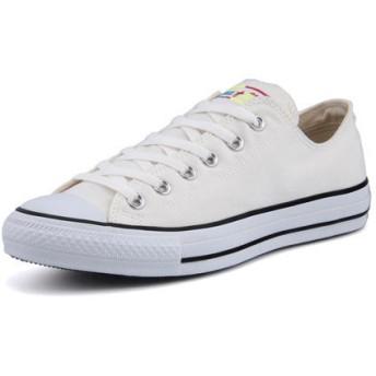 メンズ SALE!converse(コンバース) ALL STAR MARBROIDERY OX(オールスターマーブロイダリーOX) 32169150 ホワイト【ネット通販特別価格】 スニーカー ローカット