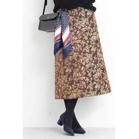 N.Natural Beauty Basic / エヌ ナチュラルビューティーベーシック ゴブランジャガードAラインスカート