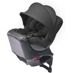 [シートベルト取付x回転式]エールベベ クルットNT2ノーブル プレミアム2 チャコール チャイルドシート ベビーカー・カーシート・だっこひも カーシート・カー用品 チャイルドシート(新生