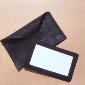 Leather Letter 牛本革のメッセージカード&ケース 送料無料