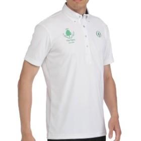 ミズノ MIZUNO THE OPEN ソーラーカット半袖ボタンダウンポロシャツ